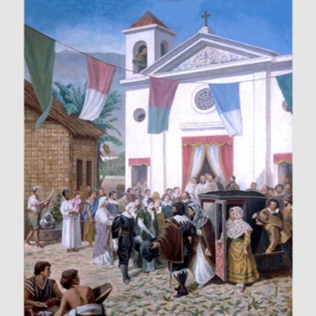 1600-1630 – A primeira Igreja