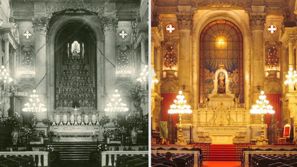 1927-1928 – O novo altar-mor